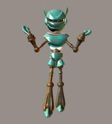 Free Robot Stock Image - 5635151