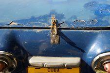 Free Cuban Car I Royalty Free Stock Photography - 5635157