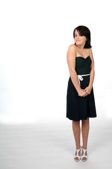 Free Teen Standing Royalty Free Stock Photography - 5636397