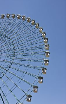 Free Ferris Wheel With Blue Sky Background Stock Photos - 5636523