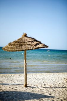 Free Beach In Tunisia Royalty Free Stock Photos - 5636638