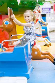 Free Little Cute Girl Having Fun Stock Photo - 5637360