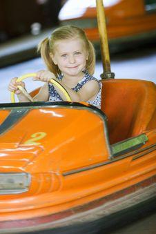 Free Little Cute Girl Having Fun Stock Images - 5637384