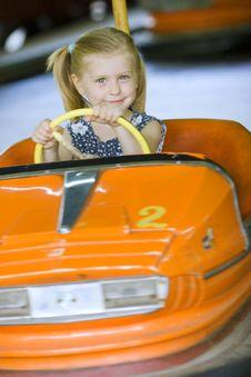 Free Little Cute Girl Having Fun Stock Photo - 5637390