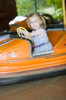 Free Little Cute Girl Having Fun Royalty Free Stock Photo - 5637395