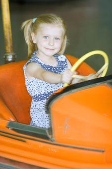 Free Little Cute Girl Having Fun Royalty Free Stock Photography - 5637407