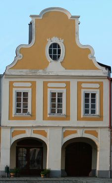 Free Historical Czech House Stock Photos - 5637463