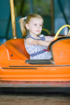Free Little Cute Girl Having Fun Stock Images - 5637474