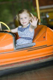 Free Little Cute Girl Having Fun Stock Photo - 5637480