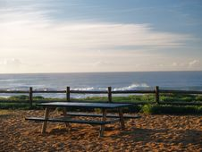 Free Lonely Bench Royalty Free Stock Photo - 5637775