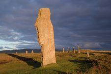 Free Sunlit Stone Royalty Free Stock Image - 5637796