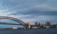 Harbour Bridge Royalty Free Stock Images