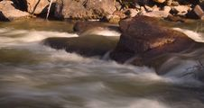 Free Evening River Rapids Royalty Free Stock Photos - 5638298