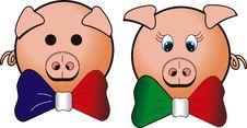 Free Cartoon Pig Royalty Free Stock Photo - 5638865
