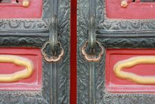 Free Locks In Forbidden City Royalty Free Stock Images - 5639529