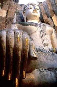 Free Giant Buddha Statue Stock Images - 5639954