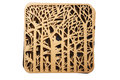 Free Decorative Plaque With Carved Wood Royalty Free Stock Photo - 56324445