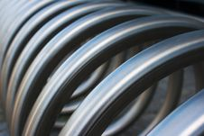 Free Fragment Of Large Metal Spiral Royalty Free Stock Photo - 56324075