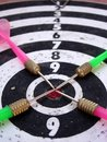 Free Old Dart Board Royalty Free Stock Photo - 5641975