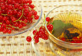 Free Currant And Tea In A Transparent Cup Stock Photos - 5645033