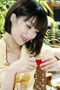 Free A Chinese Girl Royalty Free Stock Images - 5645359