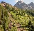 Free Steep Rocky Mountain Path Stock Image - 5646691