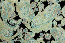 Free Vintage Silk Pattern Stock Image - 5640111
