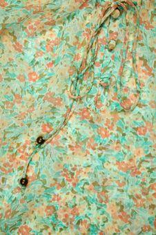 Free Silk Dress Details Stock Photography - 5640122