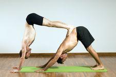 Free Two Men Balancing - Horizontal Royalty Free Stock Photo - 5640635