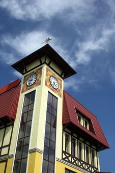 Free Clock Tower Royalty Free Stock Photography - 5640937
