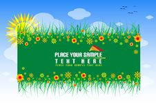 Free Floral Banner Royalty Free Stock Photography - 5641087