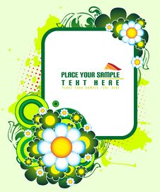 Free Floral Banner Stock Photo - 5641090