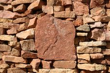 Free Wall Of Rock Stones Stock Photography - 5641272