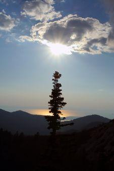 Free Mountain Evening Scene, Velebit Royalty Free Stock Images - 5641439
