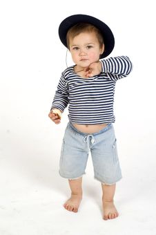 Free Cute Sailor Boy Royalty Free Stock Photography - 5641467