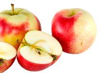 Free Three Apples Stock Image - 5641511