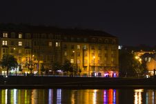 Free Prague By Night Stock Photography - 5642502