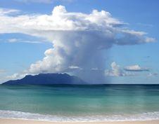Free Beautiful Rain, Clouds, Island Stock Photos - 5642933