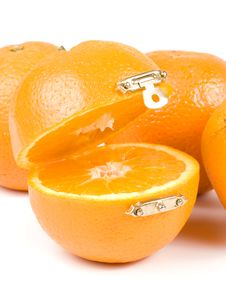 Free Fresh Orange Stock Photography - 5642942