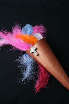 Free Feather Confetti Royalty Free Stock Photo - 5643025