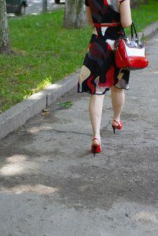 Free Womanish Feet Royalty Free Stock Image - 5643096