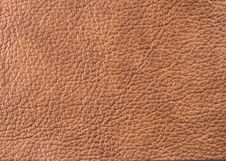 Free Natural Leather Texture Stock Photo - 5643160