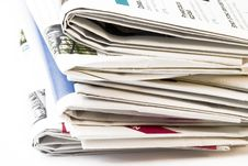 Free Stack Of Newspapers Royalty Free Stock Images - 5643339
