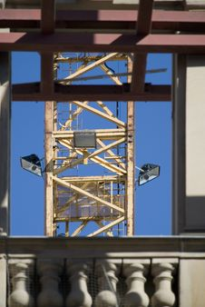 Free A Crane Detail Royalty Free Stock Images - 5643469