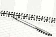 Free Planner Royalty Free Stock Image - 5644136