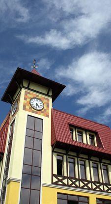 Free Clock Tower Royalty Free Stock Photos - 5644268