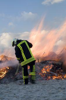 Free Fireman Stock Image - 5644531