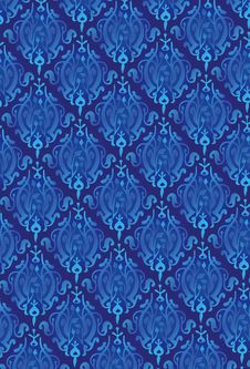 Free New Damask Style Pattern Stock Photography - 5644622