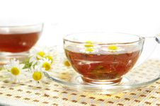Free Two Cups Of Herbal Tea Stock Images - 5644684