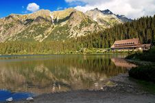 Free Mountains And A Glacial Lake Royalty Free Stock Images - 5645629